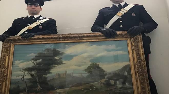 quadro carabinieri santa margherita