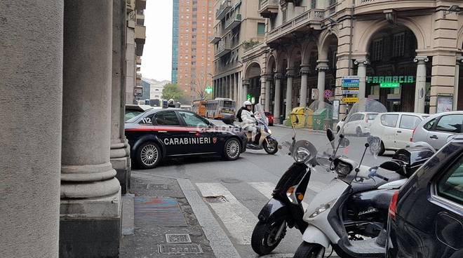 sampierdarena blitz carabinieri