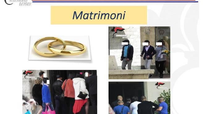spose in vendita nozze d'oro carabinieri