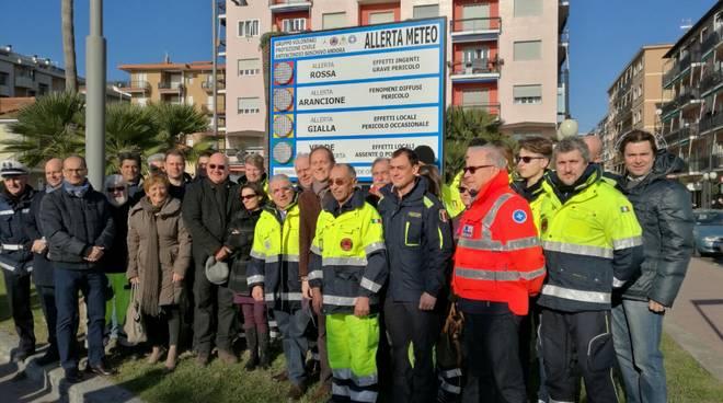 Cartelli Protezione Civile Andora