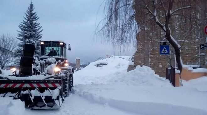 Emergenza Centro Italia Neve