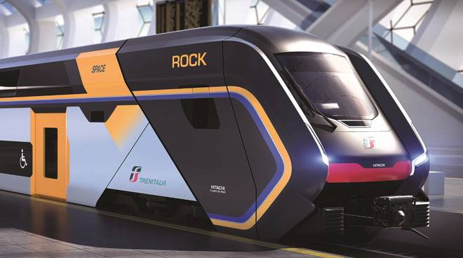 Treno Rock Hitachi