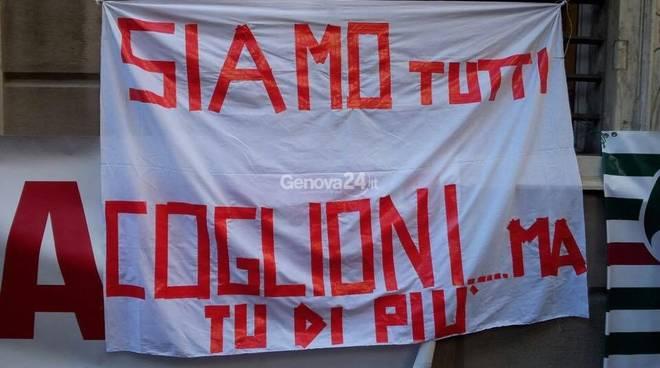 Amiu-Iren, protesta Tursi
