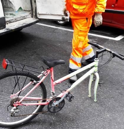 bici abbandonate