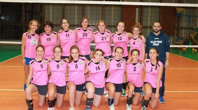 Sabato vittorioso per l\' Under 14 Femminile del Volley Team Finale