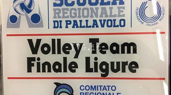 il Volley Team Finale è SCUOLA REGIONALE DI PALLAVOLO