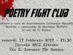 """Venerdì 17 febbraio \""""Poetry Fight Club\"""" al Circolo ARCI Al.trove"""