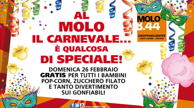 Carnevale al Molo 8.44 di Vado Ligure