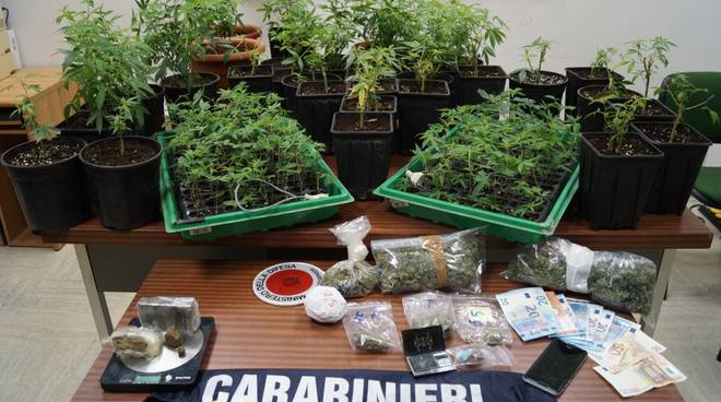 Droga Carabinieri Albenga