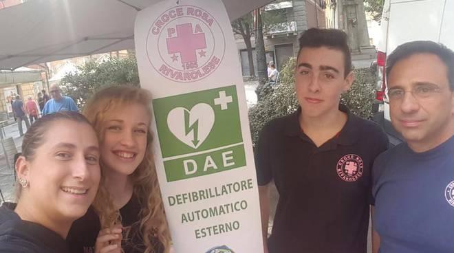 Defibrillatore Croce Rosa