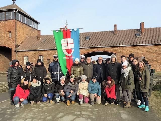delegazione ligure Auschwitz