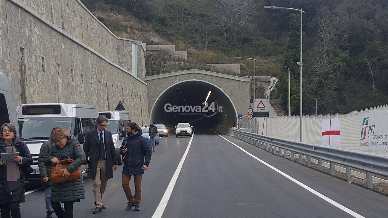 Inaugurazione gallerie Borzoli Erzelli