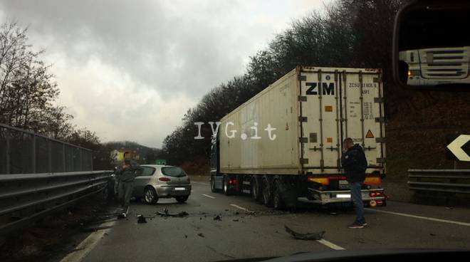 incidente autostrada6
