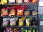 macchinetta distributore merendine snack