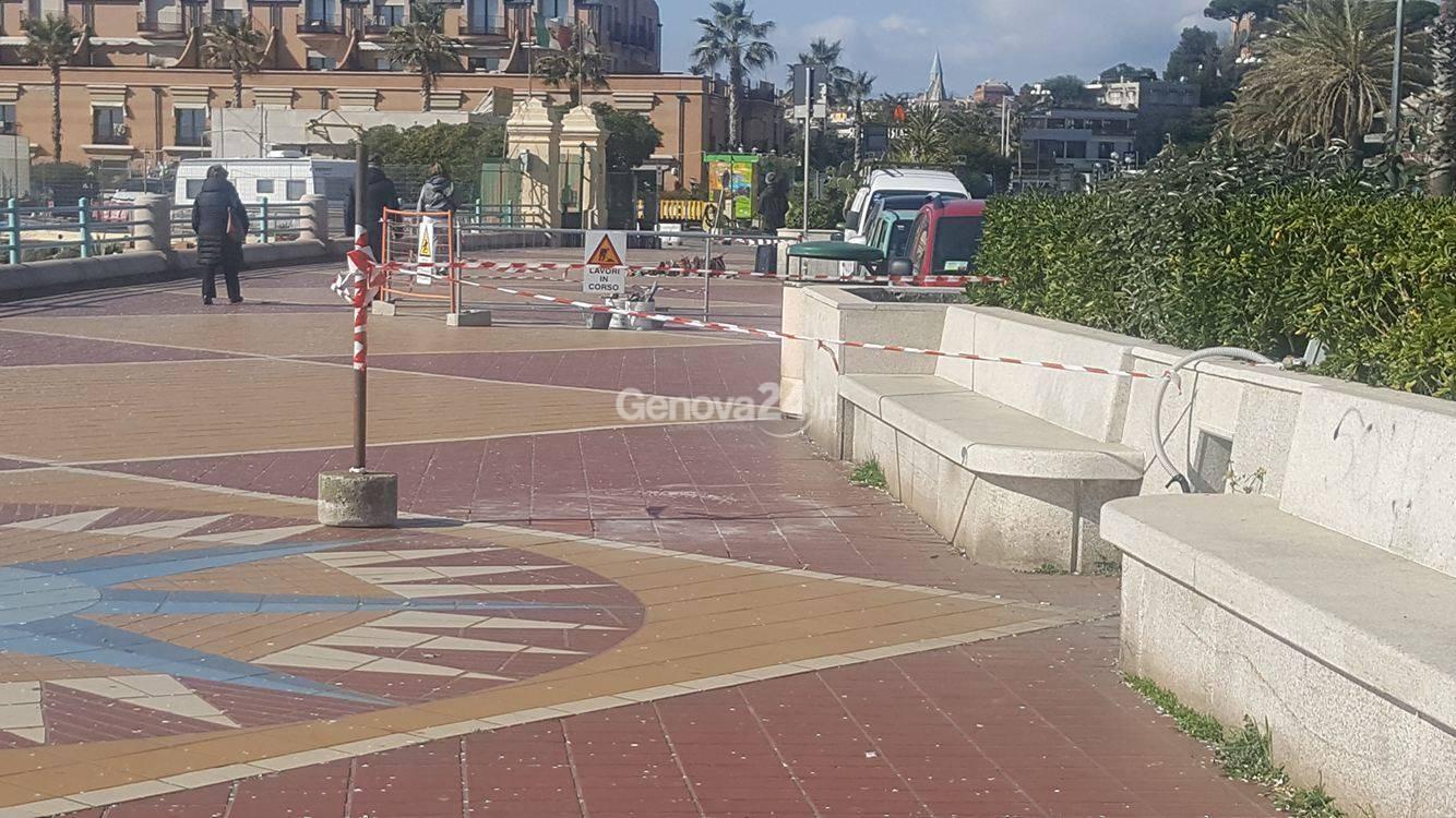 Corso italia le nuove piastrelle fanno discutere genova24.it