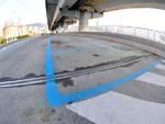 Posteggi di Di Negro rimangono vuoti, la pista ciclabile Incompleta e l'ingresso in metropolitana inaccessibile .
