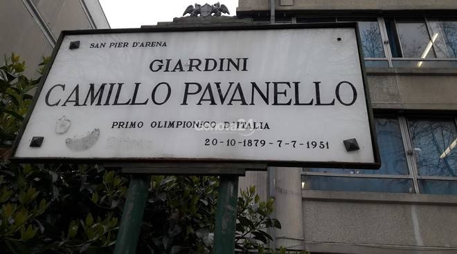 Rifacimento giardini Camillo Pavanello via Walter Fillak