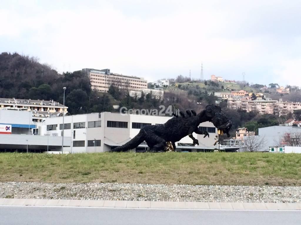 rumentosauro a bolzaneto