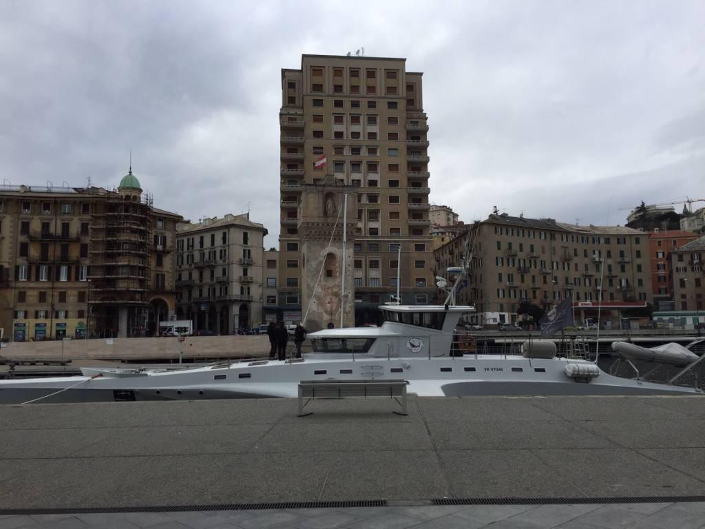 Savona, la Sea Shepherd arriva in Darsena