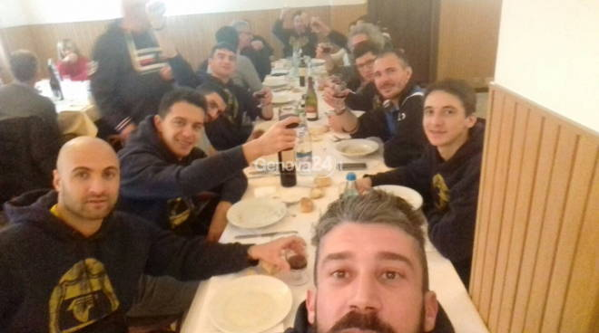 Scirborasca-Arenzano  terzo tempo....