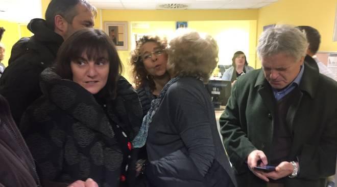 Sonia Viale in visita a Cairo Montenotte