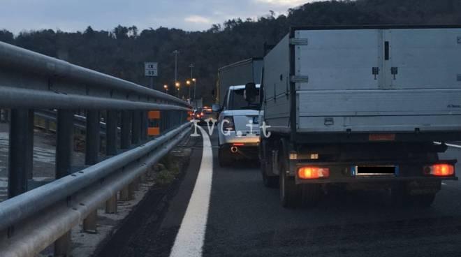 Viabilità, tratto chiuso su A7 questa sera a Vignole Borbera