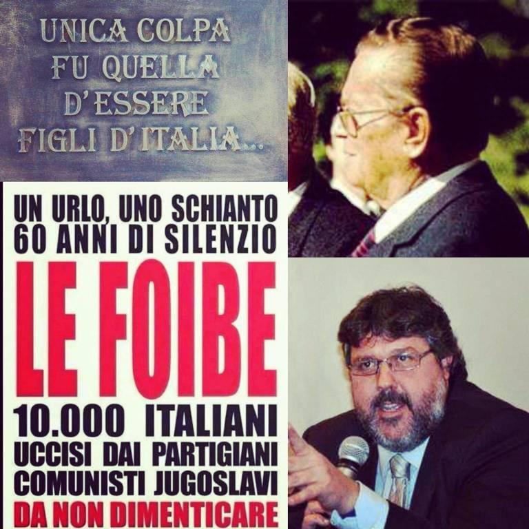 Vaccarezza Attacco Mattarella Foibe
