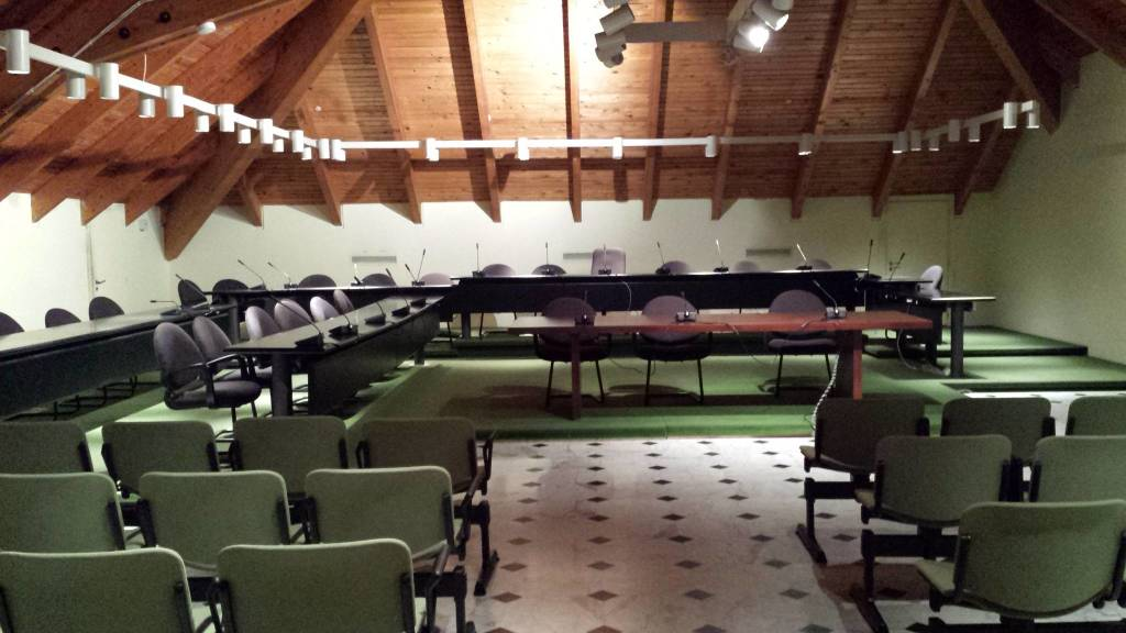 Sala Consiliare Palazzo Doria Loano