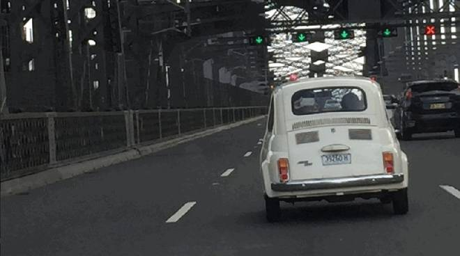 Fiat 500 Australia 60 anni