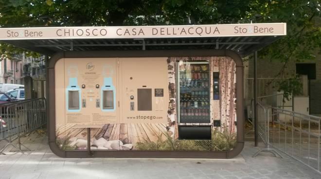 Casetta Acqua Piazza Popolo Savona