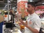 All'Ipercoop di Savona lo show-cooking di Simone Finetti