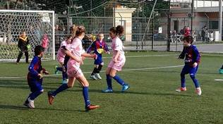 andora calcio rosa bambine
