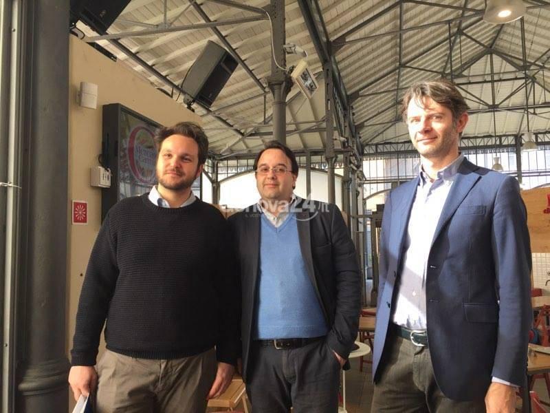 Angelo Chiaromonte, Andrea Grande e Stefano Quaranta
