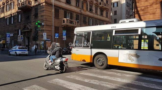 Bus frena, incidente in corso Sardegna