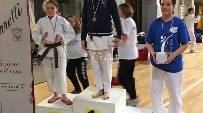 Gli atleti della Budo-Kai Karate sul podio anche ad Asti