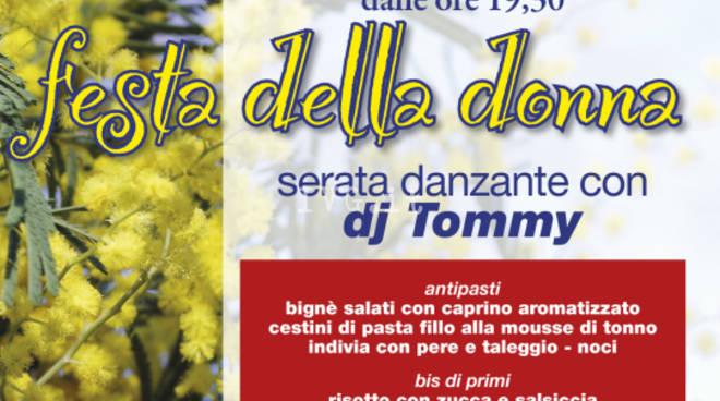 Festa della Donna: a Savona cena alla SMS F. Leginese - Circolo Milleluci