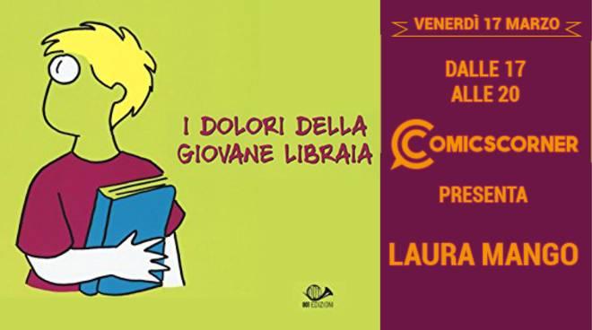 """incontro con Laura Mango autrice de \""""i dolori della giovane libraia\"""""""