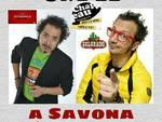 """Sabato 26 marzo al Circolo Chapeau di Savona il cabaret troneggia con Enrico Luparia & Mauro Villata Show in """"2 Pirla Mixati"""""""