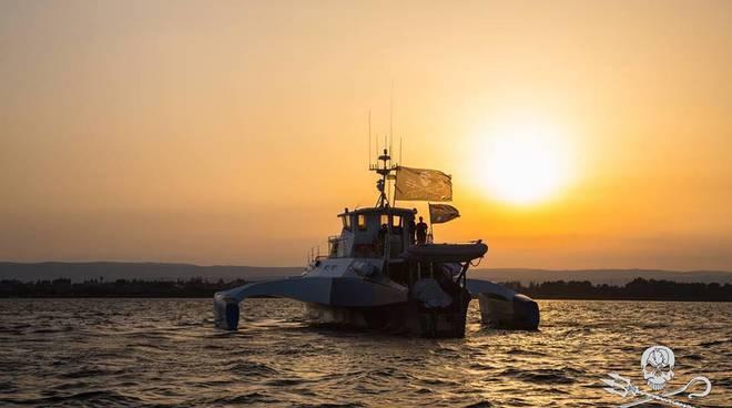Arriva Sea Shepherd a Genova con la MV Brigitte Bardot