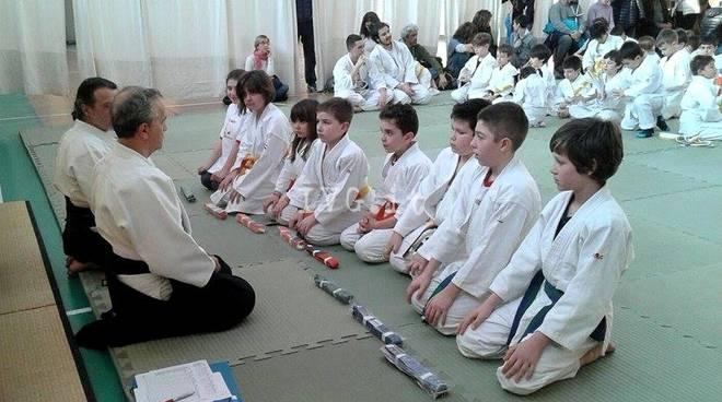 Polisportiva del Finale: successo per lo stage di Aikido con esami