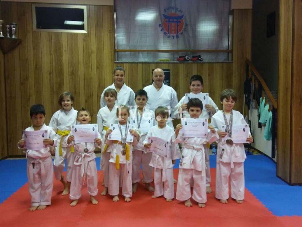 Ottimi risultati della Budo-Kai Karate al Trofeo Karate Kids