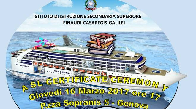 Navigando si impara con l\'Istituto Einaudi Casaregis Galilei di Genova