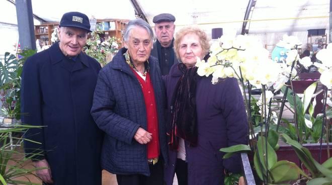 Vivai Rosso Antonio : Visita al vivaio di albenga per gli ospiti della casa di riposo di