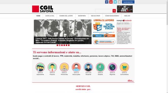 Savona online il nuovo sito della camera del lavoro for Sito camera