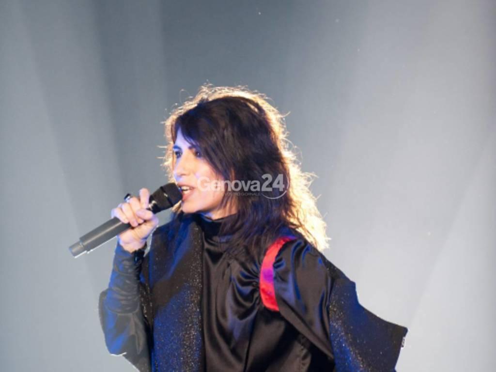 Concerto  di  GIorgia  al  105  Stadium con Oronero Tour