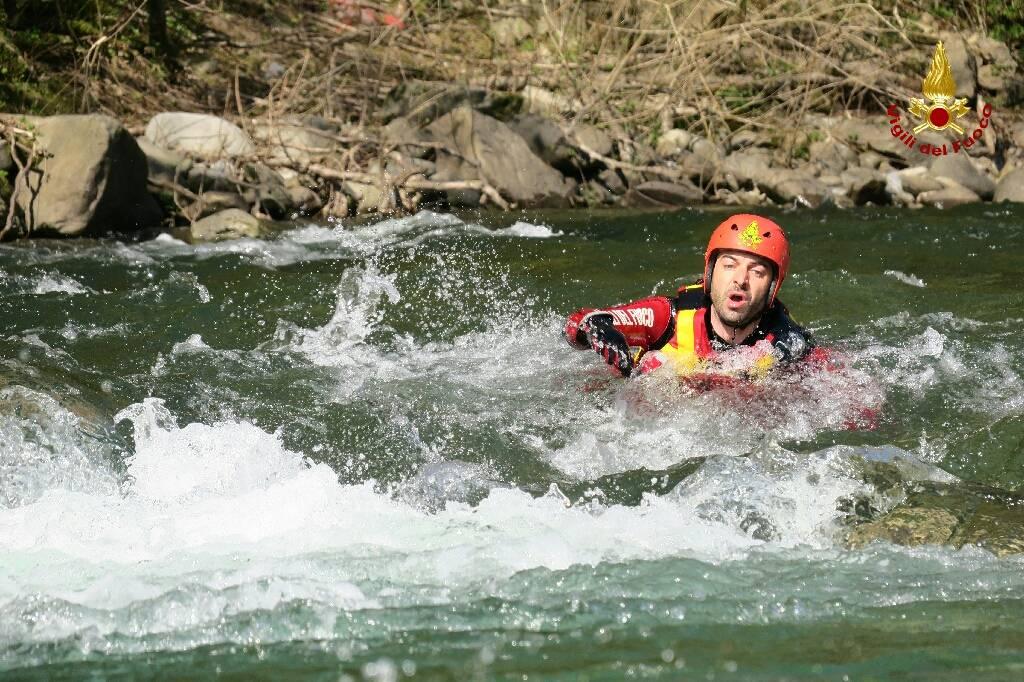 Concluso il corso per soccorritori fluviali alluvionali dei vigili del fuoco