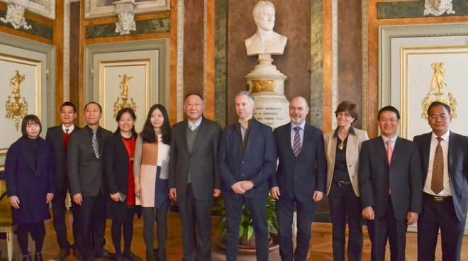 Delegazione cinese a Tursi