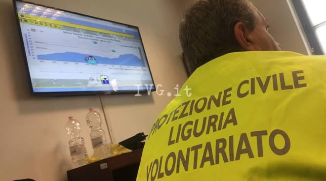 Esercitazione Quiliano coc allerta centro operativo protezione civile