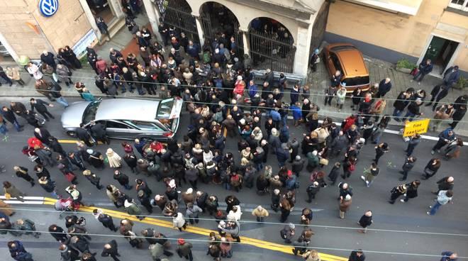 Funerali Roberta Alloisio