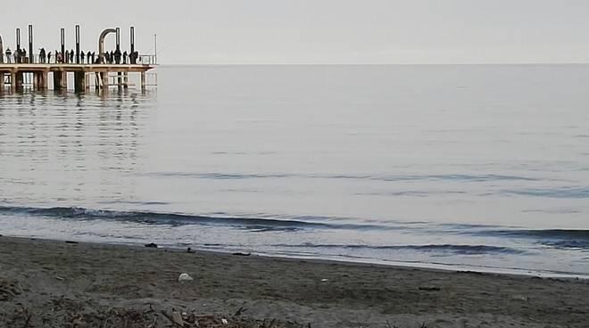 gasolio spiaggia alassio